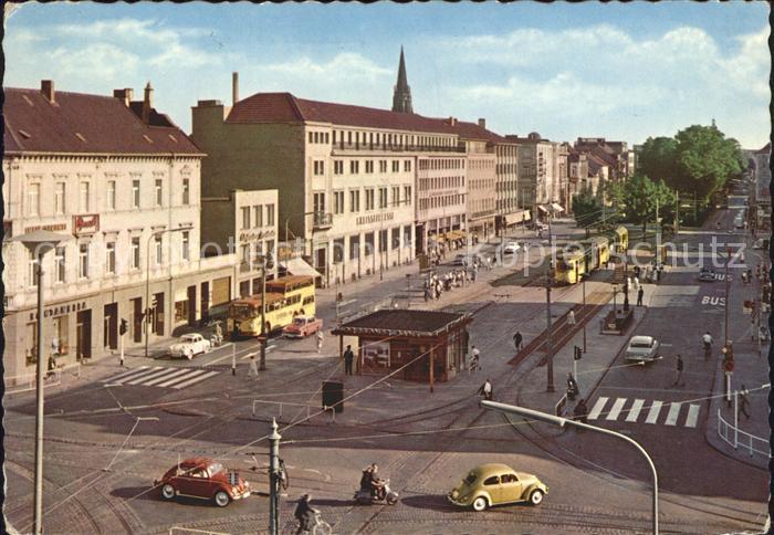 Krefeld Ostwall Kiosk Strassenbahn Kat Krefeld Nr Kf16054