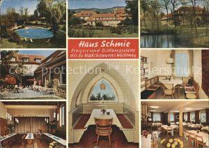 Schmie Haus Schmie Freizeitstaette Bildungsstaette des ev. Maedchenwerkes Wuerttemberg Kat. Maulbronn
