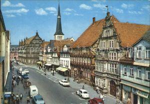 Hameln Osterstrasse mit Museum und Hochzeitshaus Kat. Hameln