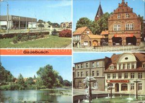 Gadebusch Konsum Kaufhalle Rathaus Burgsee Markt Kat. Gadebusch