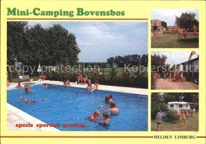 Helden Netherlands Camping Schwimmbad Bovensbos Kat. Helden
