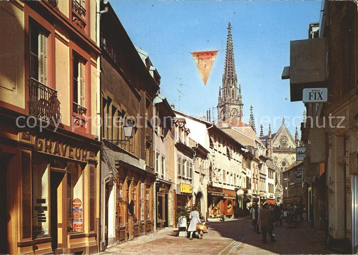 Mulhouse Muehlhausen Rue Pietonnela rue Henriette Kat. Mulhouse