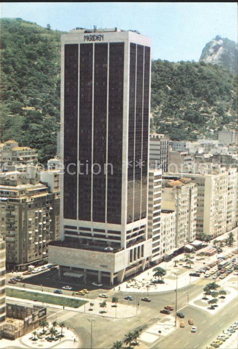 Rio de Janeiro Hotel Meridien Copacabana  Kat. Rio de Janeiro