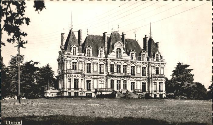 Bourg d Ire Le Chateau de la Douve Kat. Le Bourg d Ire