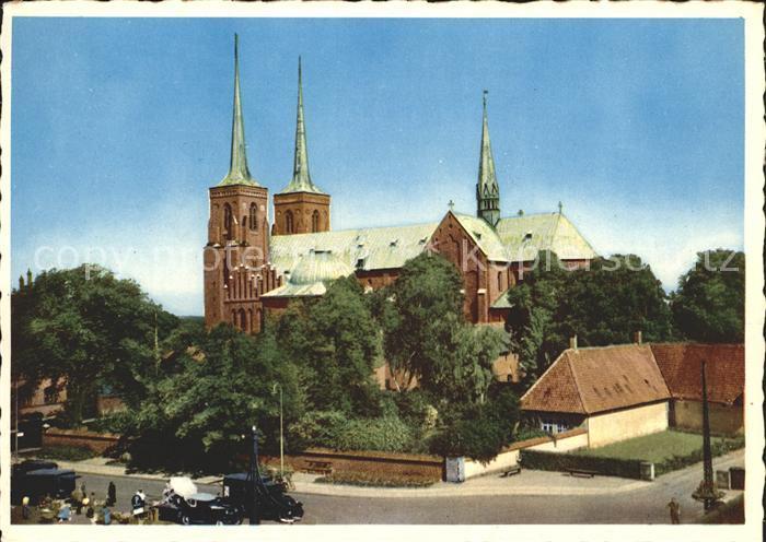 Roskilde Domkirke Kathedrale Kat. Roskilde