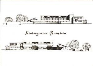 Hochdorf LU Kindergarten Hochdorf Nord Sued Ansicht Baustein / Hochdorf /Bz. Hochdorf
