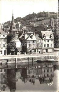 Honfleur Musee St Etienne et le Vieux Bassin Kat. Honfleur