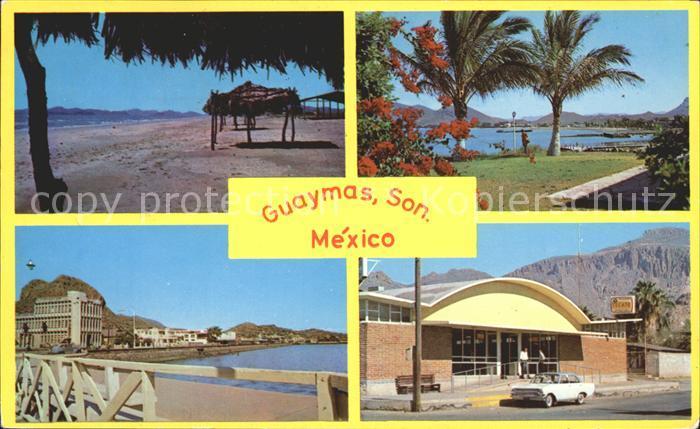 Guaymas Teilansichten Kat. Guaymas