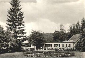 Maegdesprung Selkenmuehle Ferienheim Schulungsheim der Deutschen Post Kat. Harzgerode