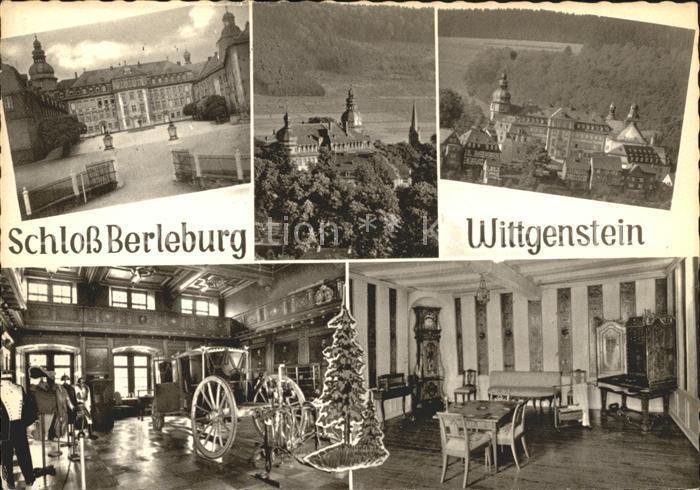 Berleburg Bad Schloss Berleburg Wittgenstein Kat. Bad Berleburg