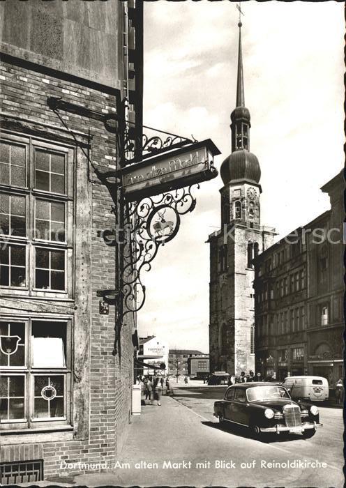 Dortmund Alten Markt Reinoldikirche Kat. Dortmund
