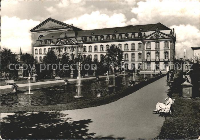 Trier Kurfuerstlicher Palast / Trier /Trier Stadtkreis