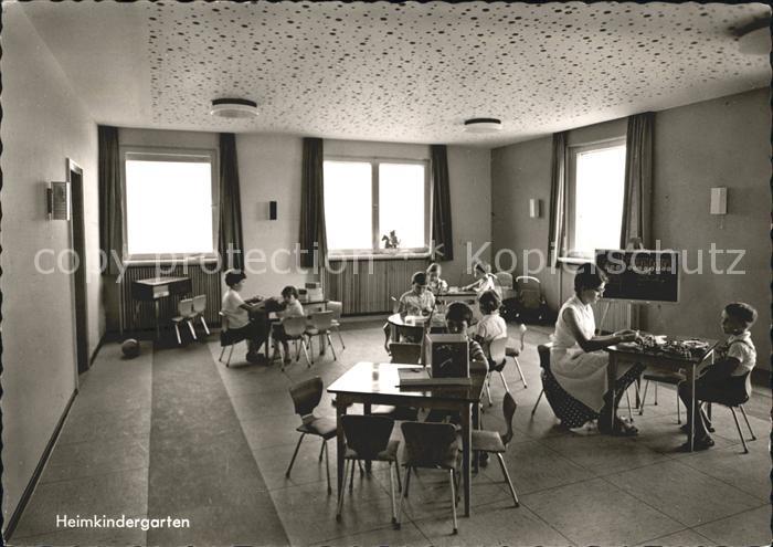 Holzhausen Siegerland Familienferienheim des Blauen Kreuzes Heimkindergarten Kat. Burbach