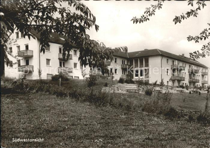 Holzhausen Siegerland Familienferienheim des Blauen Kreuzes  Suedwestansicht Kat. Burbach
