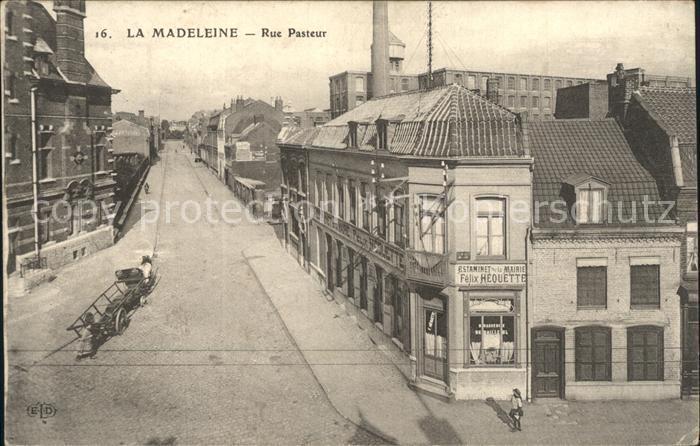 Madeleine Lille La Rue Pasteur / La Madeleine /Arrond. de Lille