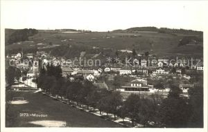 Moudon Stadtansicht / Moudon /Bz. Moudon