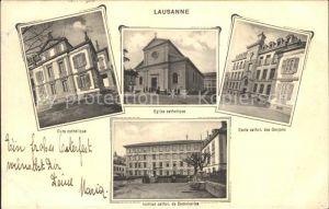 Lausanne VD Eglise catholique Cure catholique / Lausanne /Bz. Lausanne City