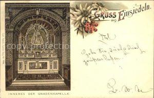 Einsiedeln SZ Gnadenkapelle / Einsiedeln /Bz. Einsiedeln