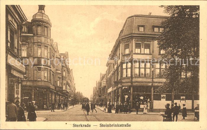 Sterkrade Steinbrinkstrasse / Oberhausen /Oberhausen Stadtkreis