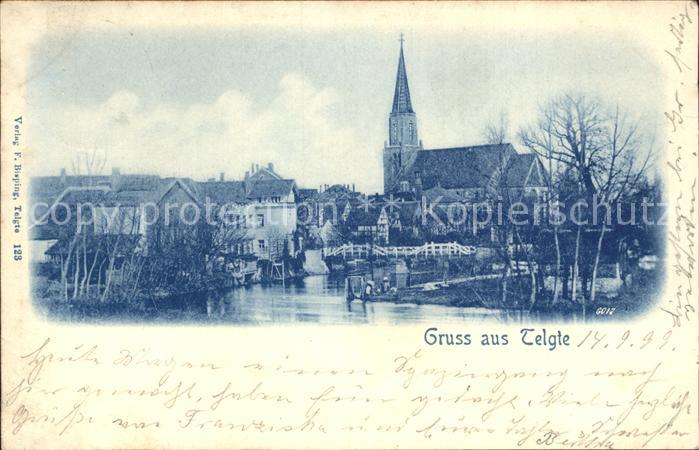 Telgte Warendorf Kirche / Telgte /Warendorf LKR