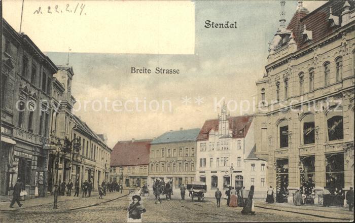 Stendal Breite Strasse / Stendal /Stendal LKR