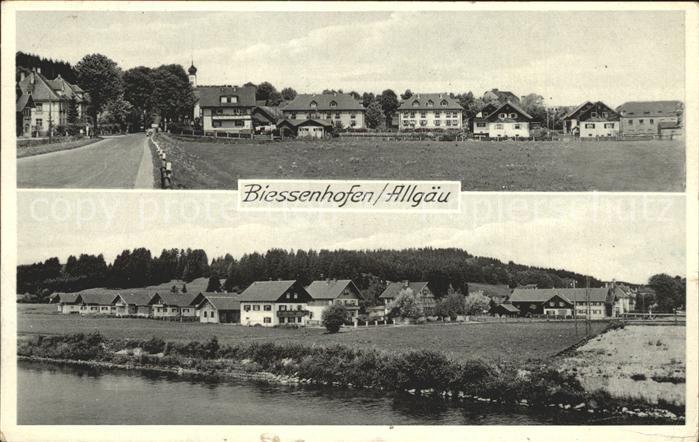 Biessenhofen Dorfansicht / Biessenhofen /Ostallgaeu LKR