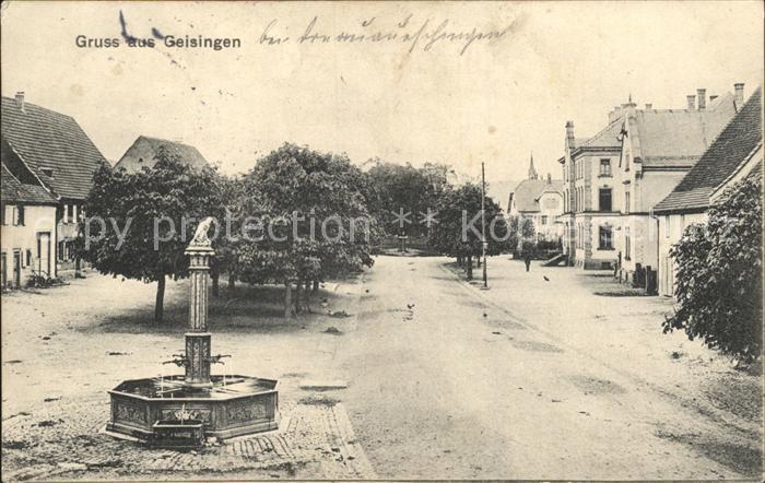 Geisingen Baden Brunnen / Geisingen /Tuttlingen LKR