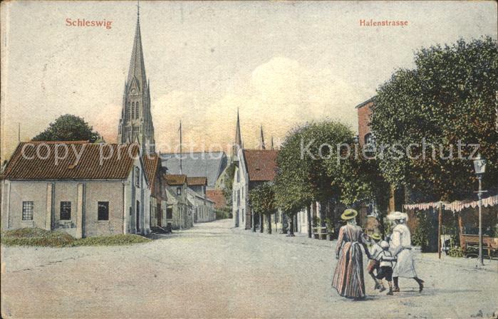 Schleswig Holstein Schleswig Hafenstrasse / Schleswig /Schleswig-Flensburg LKR