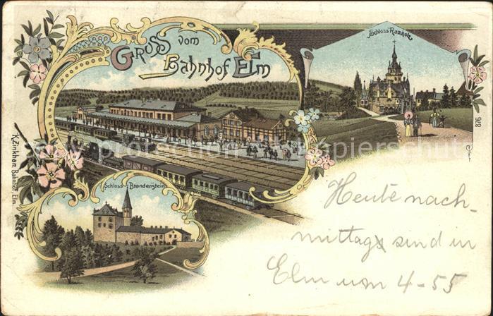 Lengerich Schloss Bahnhof / Lengerich /Steinfurt LKR