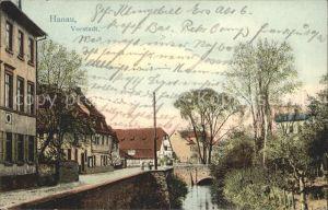 Hanau Main Vorstadt  / Hanau /Main-Kinzig-Kreis LKR