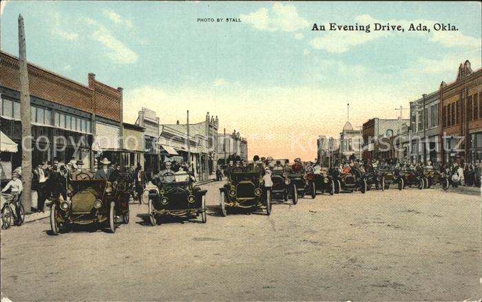 Ada Oklahoma Evening Drive Oldtimer / Ada /