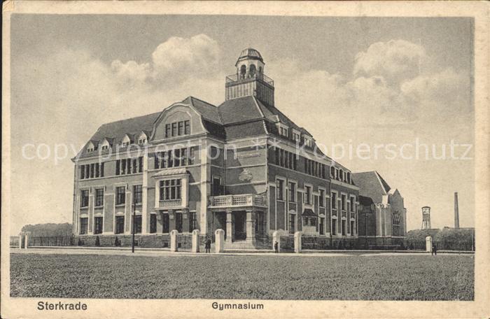 Sterkrade Gymnasium / Oberhausen /Oberhausen Stadtkreis