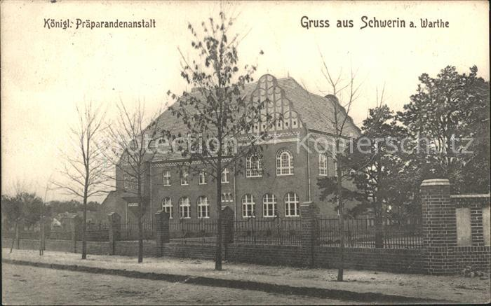 Schwerin Warthe Koenigliche Praeparandenanstalt / Skwierzyna /