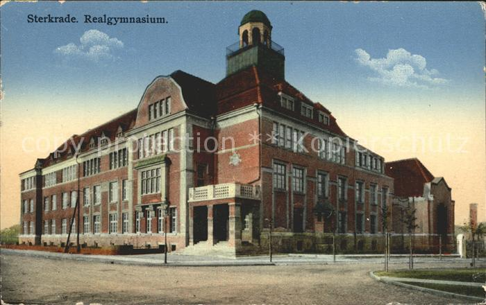 Sterkrade Realgymnasium / Oberhausen /Oberhausen Stadtkreis