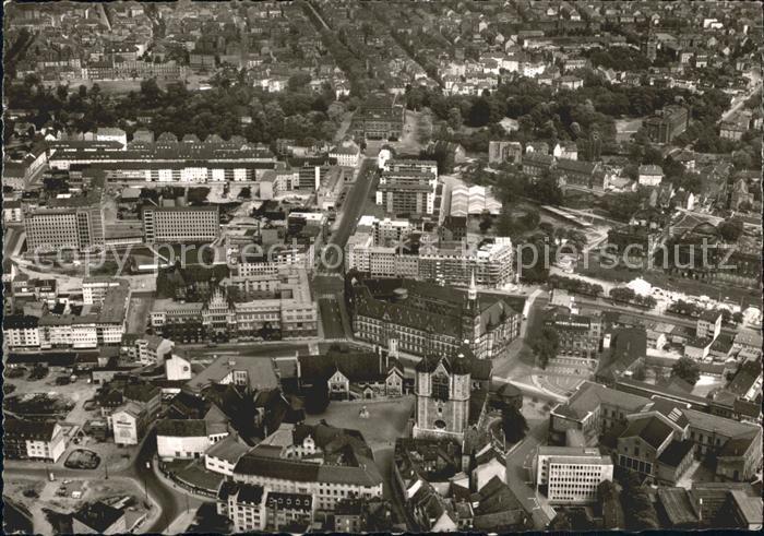 Braunschweig Dom Burg Rathaus Fliegeraufnahme / Braunschweig /Braunschweig Stadtkreis