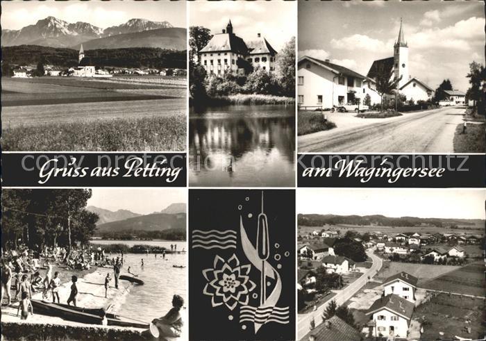 Petting Kirche  / Petting /Traunstein LKR