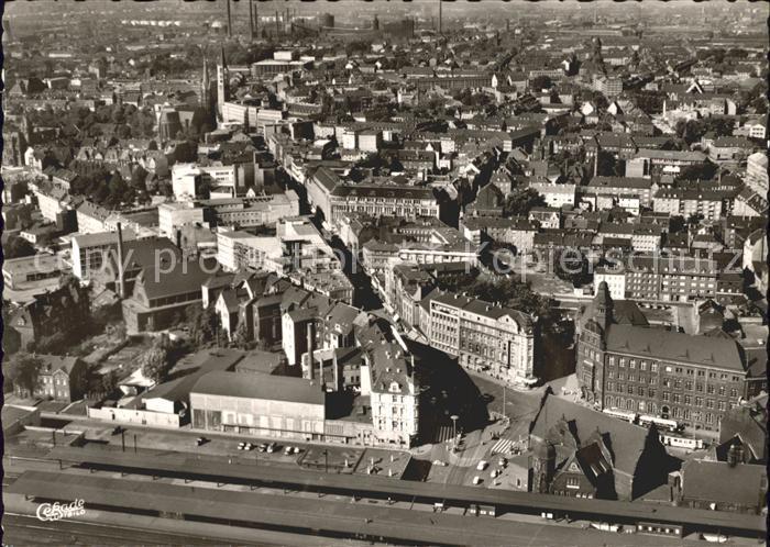 Gelsenkirchen Fliegeraufnahme / Gelsenkirchen /Gelsenkirchen Stadtkreis