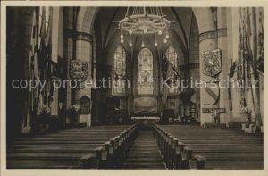 Wilhelmshaven Inneres der Marine Gedaechtnis Kirche  Kat. Wilhelmshaven