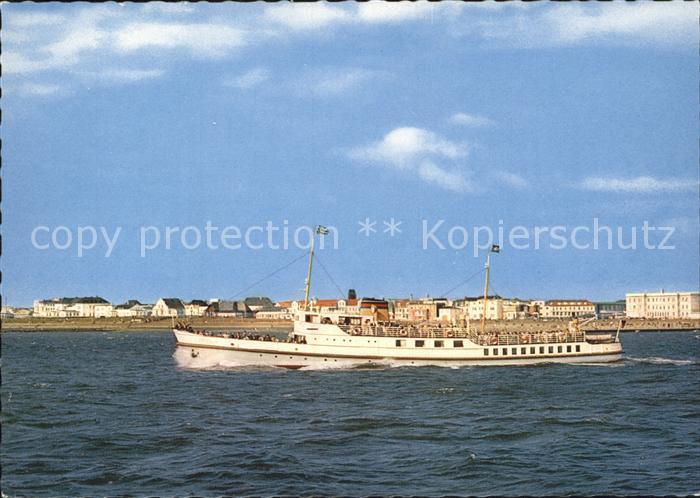 Norderney Nordseebad MS Frisia IV Kat. Norderney