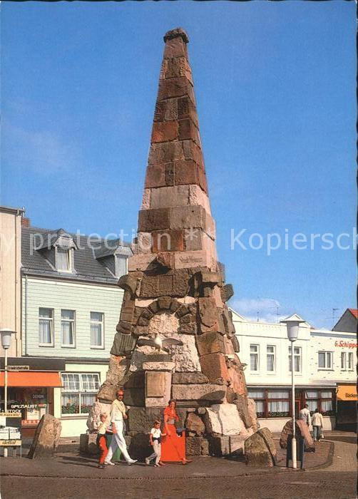 Norderney Nordseebad Das Denkmal Kat. Norderney