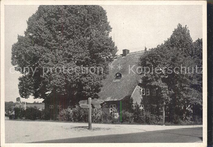 Gleschendorf Scharbeutz Schulheim Amalie Dietrichs Weg Ziegelhof Kat. Scharbeutz
