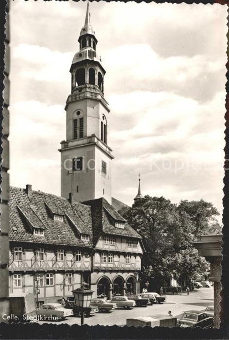 Celle Niedersachsen Stadtkirche Kat. Celle