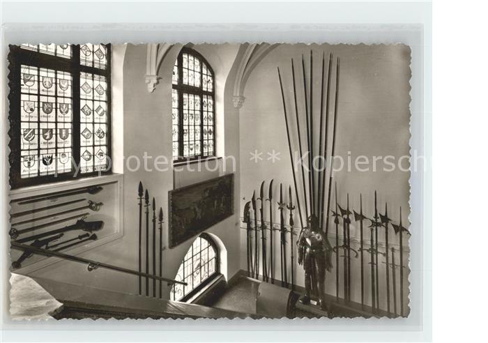 Celle Niedersachsen Bohmann Museum Dt Waffen 15 bis 18 Jhdt Feldharnisch Kat. Celle