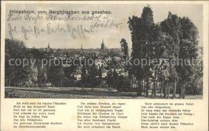 Hildesheim Blick vom Berghoelzchen Kat. Hildesheim