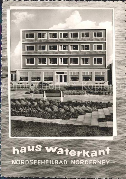 Norderney Nordseebad Haus Waterkant Kat. Norderney