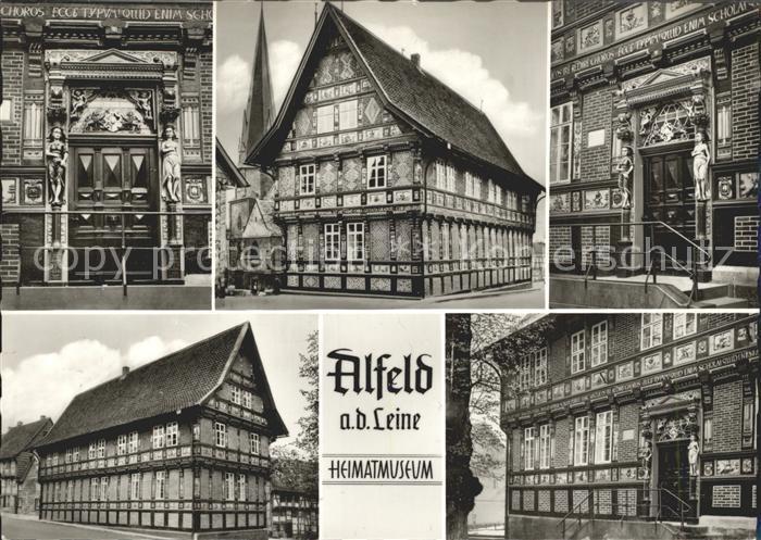 Alfeld Leine Heimatmuseum  Kat. Alfeld (Leine)