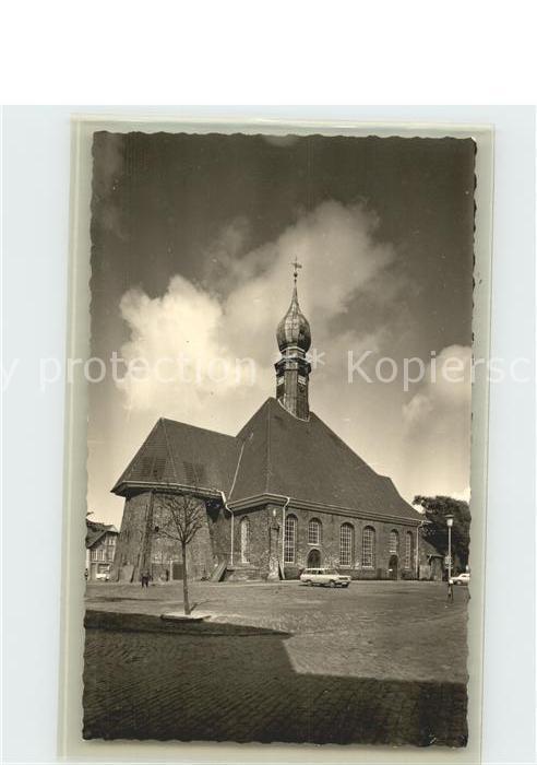 Wesselburen Kirche Kat. Wesselburen