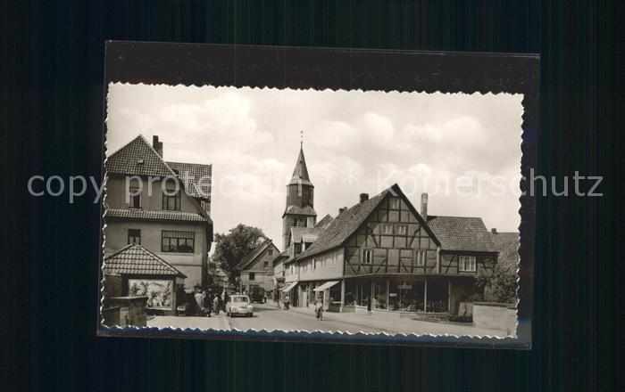 Gronau Leine Hauptstrasse Kat. Gronau (Leine)