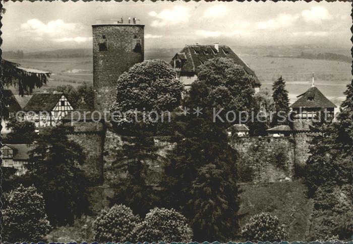 Trendelburg Burg Trendelburg / Trendelburg /Kassel LKR