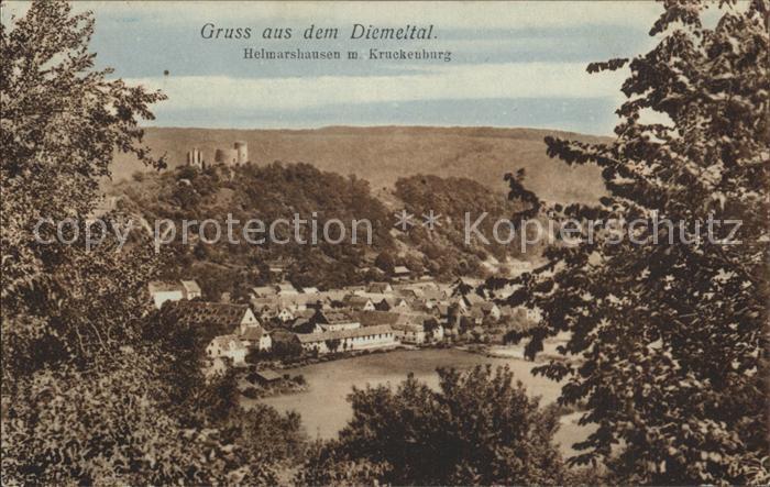 Helmarshausen Kruckenburg Kat. Bad Karlshafen
